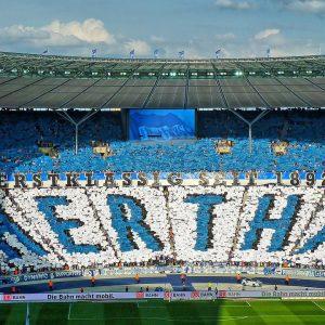 Fankurve Hertha BSC