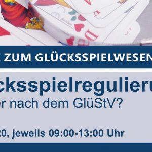 Logo Webkonferenz zum Glücksspielwesen