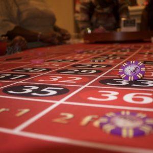 Roulette-Tisch, Chip