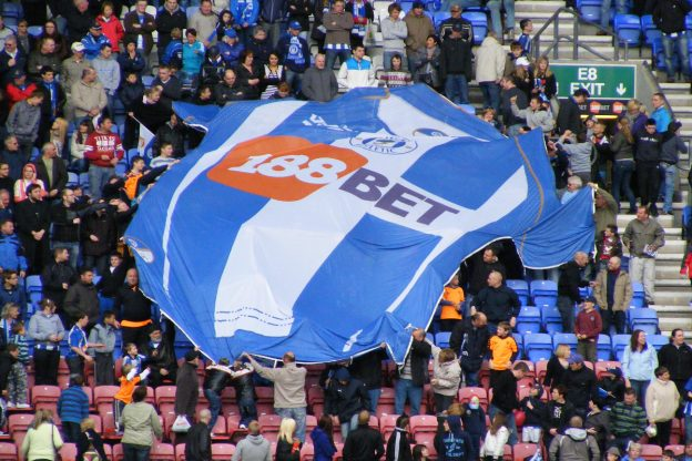 Fußball Fankurve Wigan Trikot