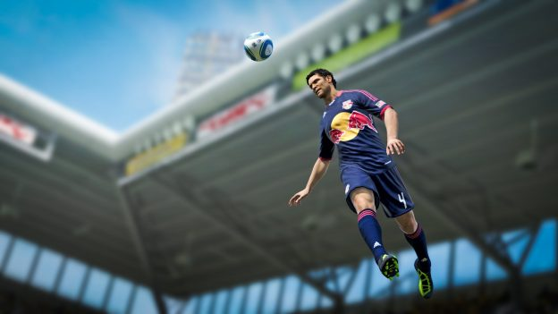 EA FIFA virtueller Spieler Kopfball