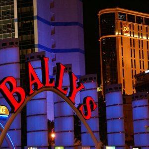 Bally's Casino Las Vegas Leuchtschild
