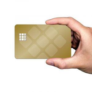 Hand Chipkarte
