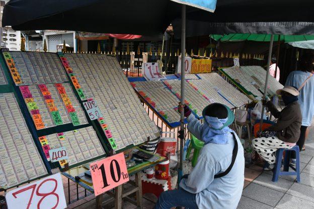 Thailand Lotto Verkäufer