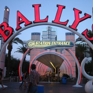Bally's Casino Schild