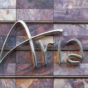 Aria Casino Schriftzug