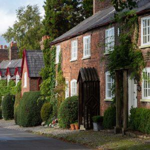 Haeuserreihe in England