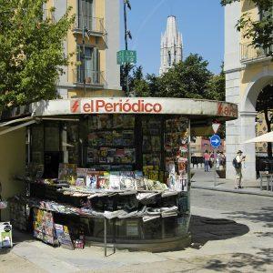 Kiosk, Spanien, spanische Zeitungen