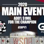 World Series of Poker 2020 Main Event Final Table live in Las Vegas