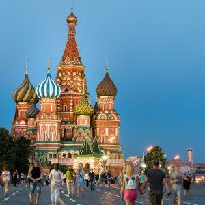 Moskau in Russland
