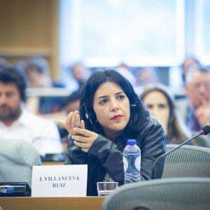 Idoia Villanueava, spanische EU-Abgeornete, Podemos