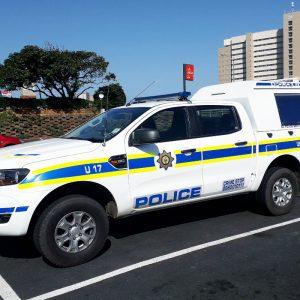 Polizeiwagen Südafrika