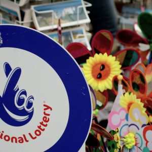 National Lottery Aufkleber