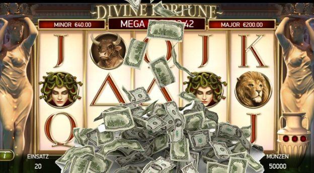 Spielautomat, Geldscheine