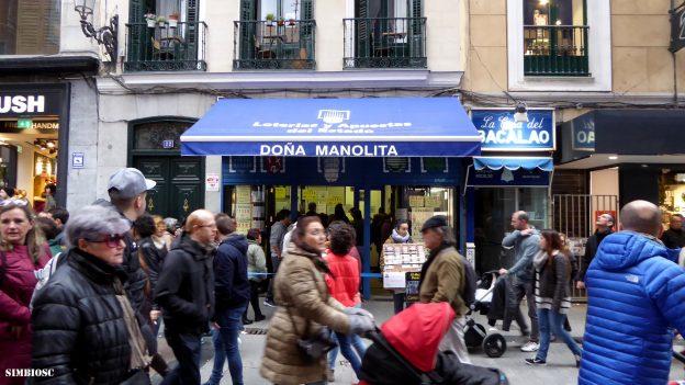 Lottoverkaufsstelle Spanien, Doña Manolita