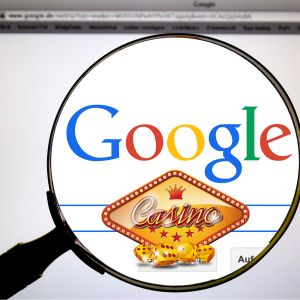Google, Casino, Lupe, Browser