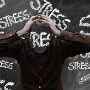 Stress, Mann, Tafel