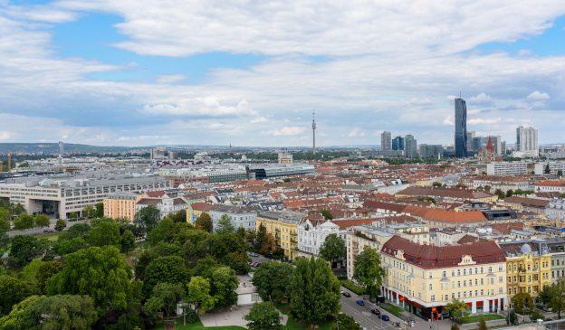 Wien aus der Luft