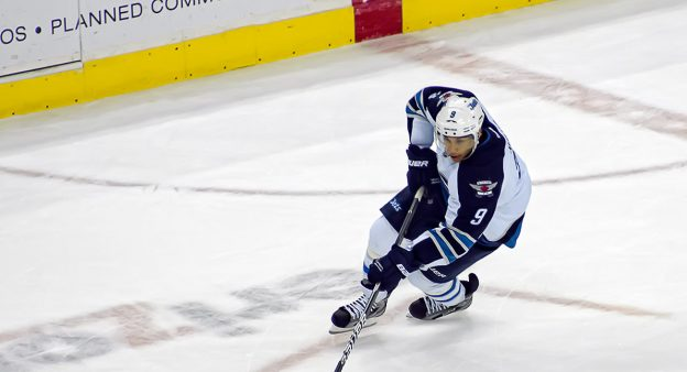 Evander Kane auf dem Eis