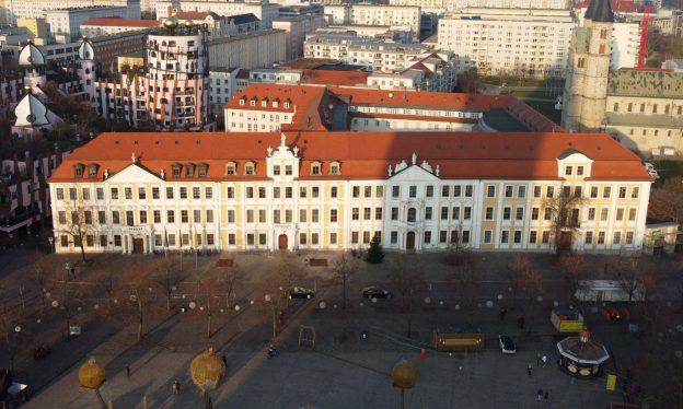 Der Landtag in Magdeburg
