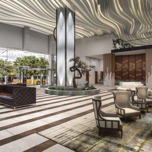 Lobby-Konzept Majestic Las Vegas