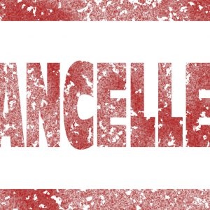Cancelled-Stempel