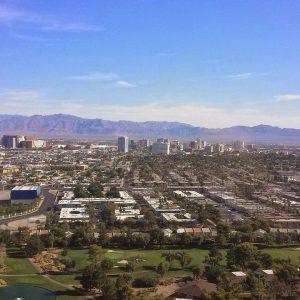 Luftbild von Las Vegas