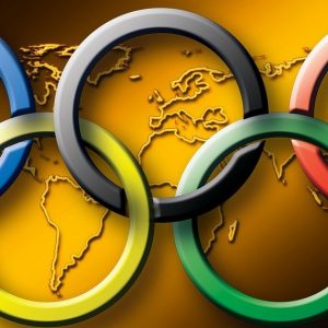 Olympische Spiele, Ringe, Olympia