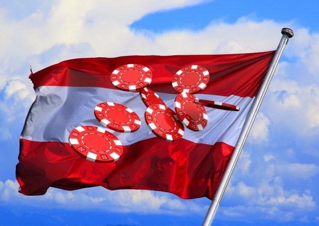 Flagge Österreich, Chips