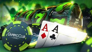 The Gaming Club Online-Casino Spielkarten Würfel Jetons