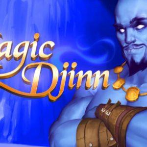 Magic Djinn, blauer Flaschengeist