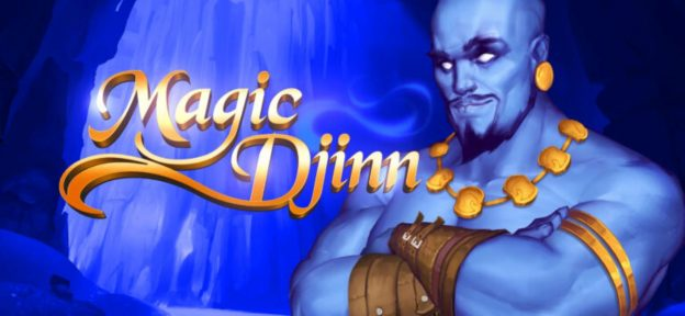 Magic Djinn, blauer Flaschengeist