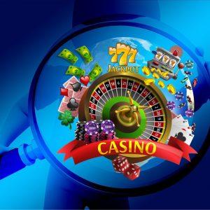 Männchen, Lupe, Casinospiele