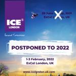 Glücksspiel-Messe ICE London auf Februar 2022 verschoben