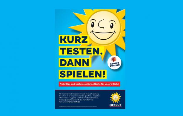 Gauselmann Merkur Sonne Slogan