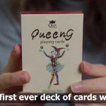 Teenager entwirft Spielkarten basierend auf Gender-Gleichheit und Diversität