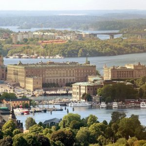 Schwedischer Königspalast in Stockholm