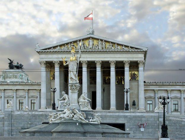 Österreich Parlament in Wien
