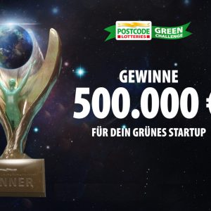 Postcode Lotterie Green Challenge Pokal