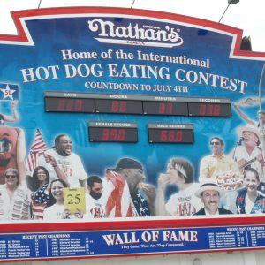 Hot Dog-Wettessen