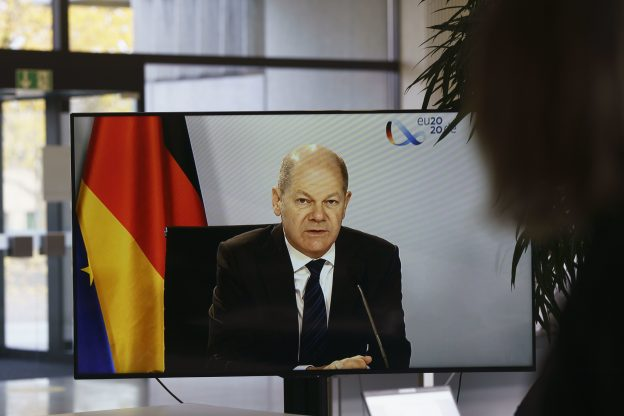 Olaf Scholz, SPD-Kanzlerkandidat