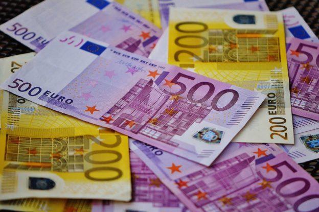 Geldscheine Euro Banknoten