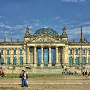 Berlin Bundestag, Reichstagsgebäude