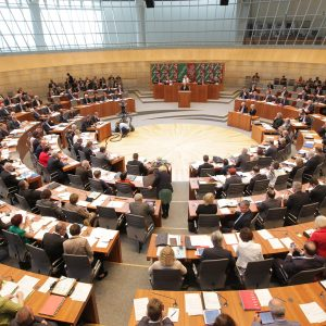 Landtag NRW Plenarsaal Sitzung