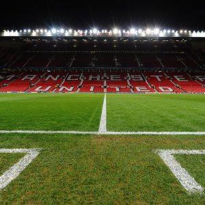 Old Trafford Fußballstadion Manchester United