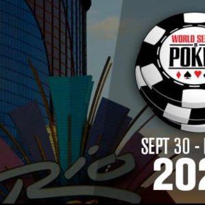 Logo WSOP 2021, Rio Hotel