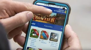 Smartphone, Hand, Casinospiele