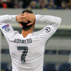 Christiano Ronaldo von hinten