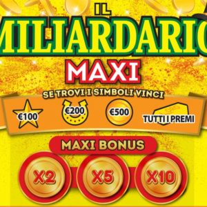 Maxi Miliardario Rubbellos