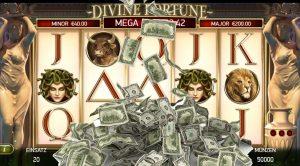Online-Spielautomat, Geldscheine